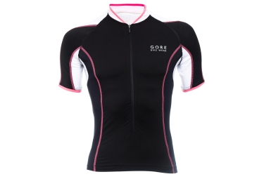 GORE BIKE WEAR Maillot POWER PHANTOM 2.0 Noir Blanc