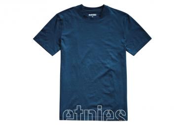 Etnies T-Shirt SS Stencil Crop Navy