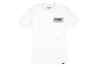 Etnies T-Shirt SS Quality Control White