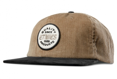 Casquette Etnies Patched Snapback Beige