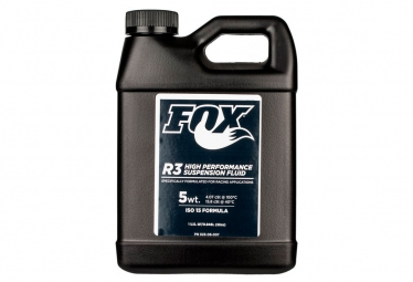 fox huile fourche fox fluid r3 5wt iso 15 250ml