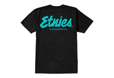 T shirt manches courtes etnies speed script noir xl