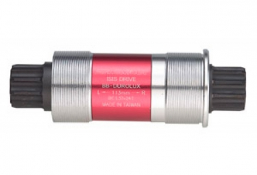SR Suntour Bottom Bracket BB-Durolux ISIS-Drive Red/ Silver/ Black