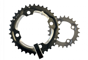 FSA PRO MTB Double Chainring 11S 104mm Pin 4mm Black