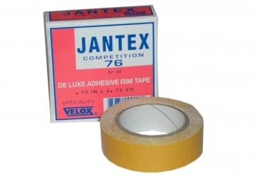 Fond de jante velox jantex 76 adhesif rouleau 4 3m