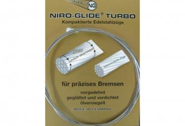 Câble de frein Niro-Glide Inox Turbo Route Argent