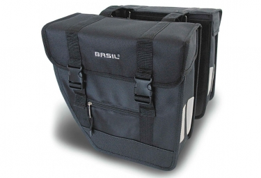 Basil Tour Double Bag Black