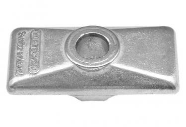Plaque Support Pletscher pour Béquille ESGE F 7 Argent