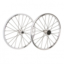 Roues EXCESS 351 20 x1-1/8 blanc