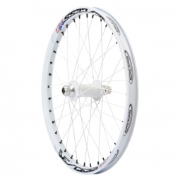Roue avant excess 351 20mm 20 x1 75 blanc