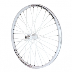 Roue avant excess 351 20mm 24 x1 75 blanc