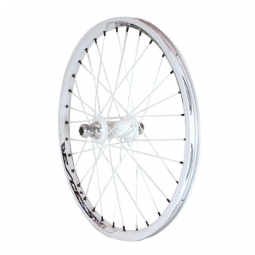 Roue avant excess 351 20mm 20 x1 50 blanc