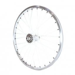 Roue arriere excess 351 20 x1 50 blanc