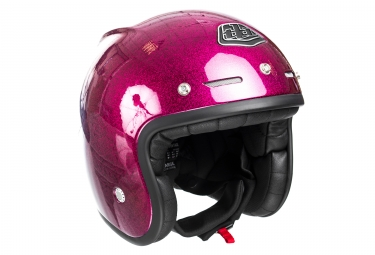 Casque jet troy lee designs metal flake violet xl 61 62 cm