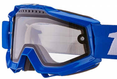 100% Masque ACCURI Reflex Blue Clear Lenses (Vented Dual Pane)