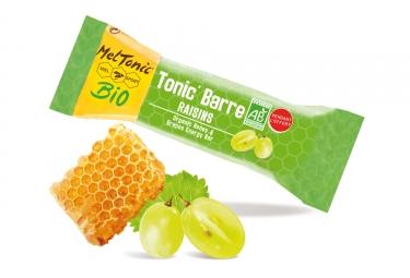 Meltonic barre energetique tonic miel raisin amande