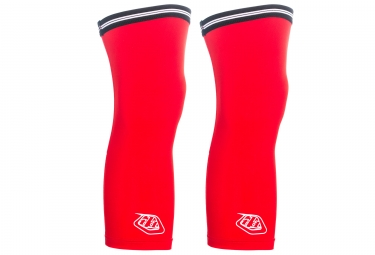 Jambieres troy lee design knee warmer ace lite rouge m