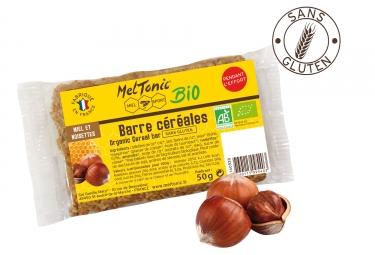 Barre énergétique Meltonic Céréales Miel Noisette