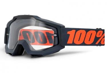 100 masque accuri reflex gunmetal ecran transparent double ventille