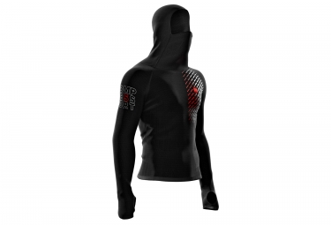 Compressport Hoodie 3D Thermo Ultralight Racing Black
