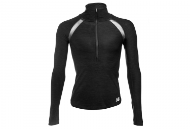 New Balance Pull 1/2 Zip In Transition Black Women