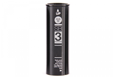 Sb3 reducteur de tube de selle 31 6 27 2mm noir