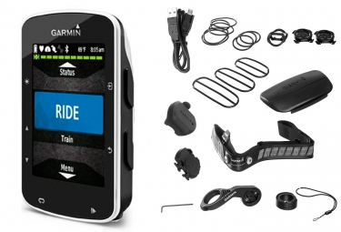 Garmin gps edge 520 bundle noir blanc