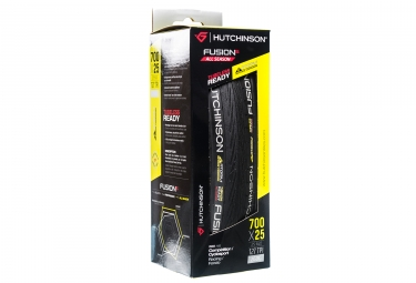 HUTCHINSON Tire FUSION 5 All Season Tubeless ElevenSTORM Hardskin 700 Black