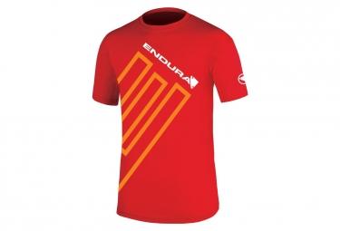 T-shirt ENDURA E Rouge