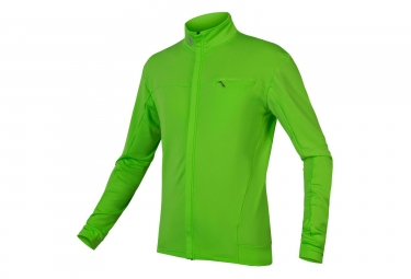 Maillot ENDURA Roubaix Xtract M/L Vert neon