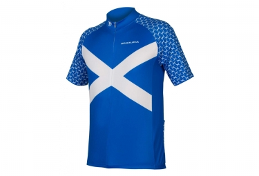 Endura Scotland Jersey Blue S