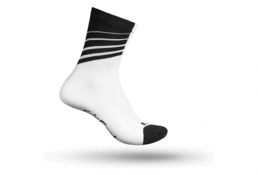 Chaussettes gripgrab racing stripes blanc 44 47
