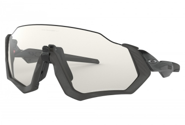 Gafas Oakley Flight Jacket black clear Photochromic