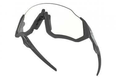 OAKLEY Flight Jacket Sunglasses Black/Grey/Photochromic