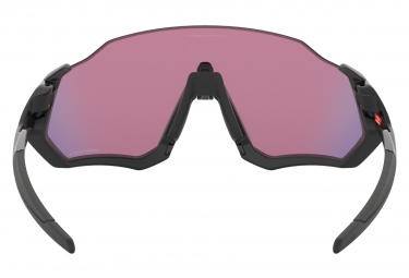 OAKLEY Flight Jacket Sunglasses Matte Black/Black/PRIZM Road