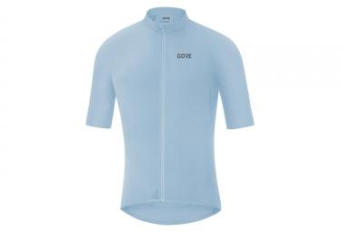 Maillot Manches Courtes Gore Wear C7 Bleu Ciel