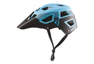 Casque vtt seven m5 bleu turquoise noir s m 54 58 cm