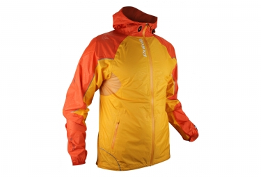 Veste impermeable raidlight extreme orange m