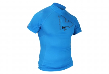 Image of Maillot raidlight performer top bleu s