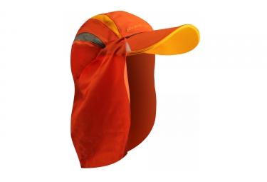 Casquette raidlight sahara orange