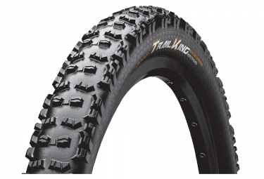 Pneu vtt continental trail king protection apex 26 tubeless ready souple blackchili