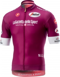 Maillot manches courtes castelli giro race violet xxl