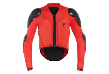 Veste de protection enfant dainese scarabeo black red kid m