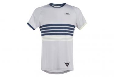 T-shirt Technique DAINESE Awa 1 Blanc/Bleu/Noir/Jaune