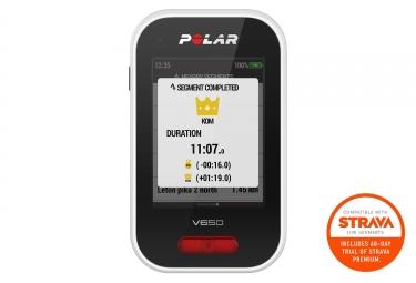 Ciclocomputador GPS POLAR V650 con Cartografía