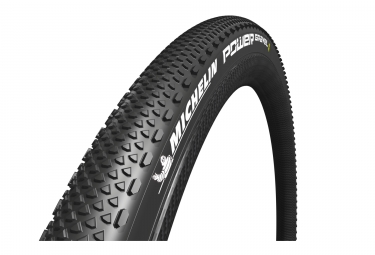 Pneu michelin power gravel tubeless ready tringle souple 700mm noir 33 mm