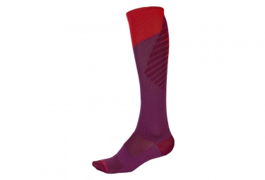 Calze da donna ENDURA SingleTrack Purple Red