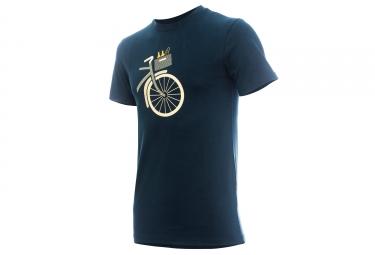 T-shirt MARCEL PIGNON Homme Panier Bleu