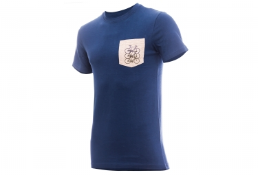 MARCEL PIGNON Pocket Tee Blue/Grey