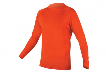 Sous maillot endura baabaa merino ml orange xxl